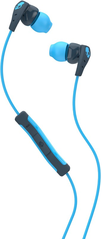 Skullcandy S2CDY-K477 Method Headset with Mic(Navy Blue, Blue, In the Ear)