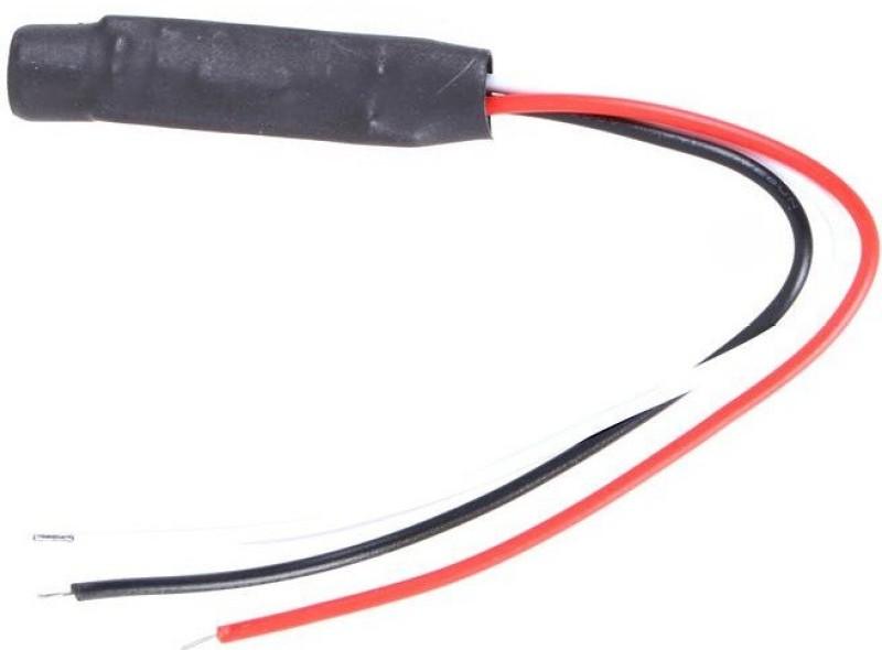 Fox FX-151 CCTV Audio Microphone(Black)