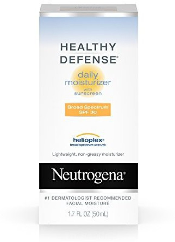Neutrogena Healthy Defense Daily Moisturizer With Broad Spectrum Spf 30 Sunscreen Sensitive Skin(50 ml)