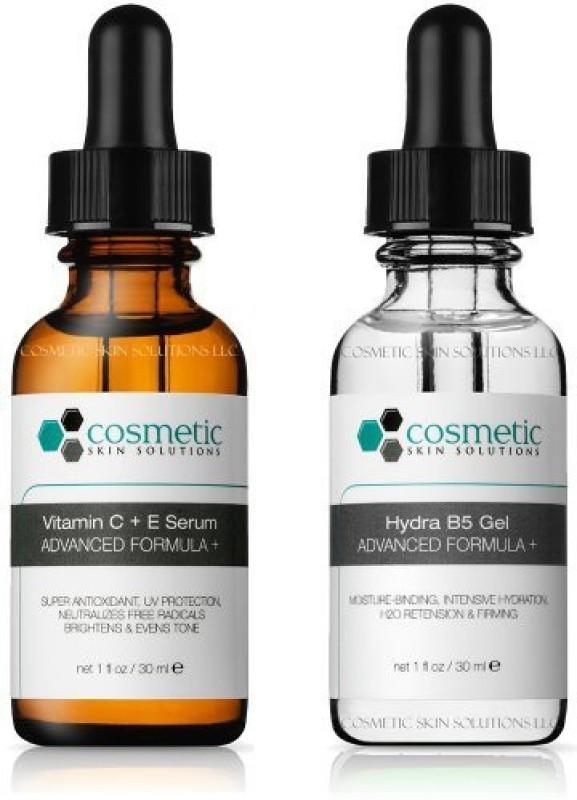 Cosmetic Skin Solutions LLC Best Vitamin C+e Serum + Hydrating B5 Gel Advanced Formula(30 ml)