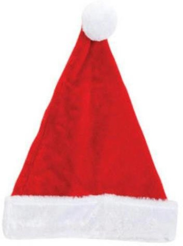 """Greenbrier Classic 17"""" Plush Red Father Christmas Santa Head Cover with White Furry Trim"""