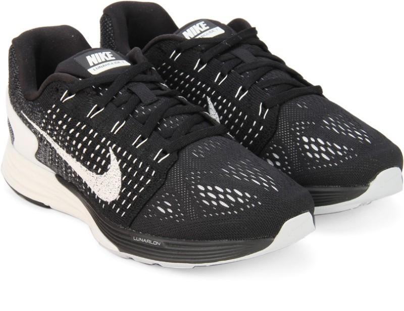 Nike WMNS LUNARGLIDE 7 Running ShoesBlack White