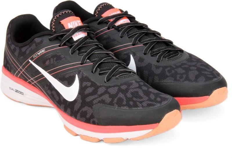 Nike WMNS DUAL FUYESON TR 2 PRINT Training ShoesBlack White Grey