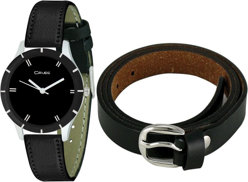 CRUDE Wrist Watch Women  Combo