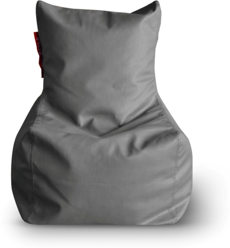 Home Story Large Bean Bag Cover (Without Beans)(Grey)
