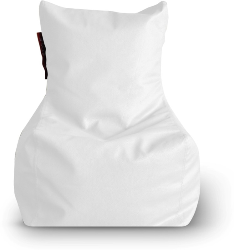 Home Story Large Bean Bag Cover (Without Beans)(White)
