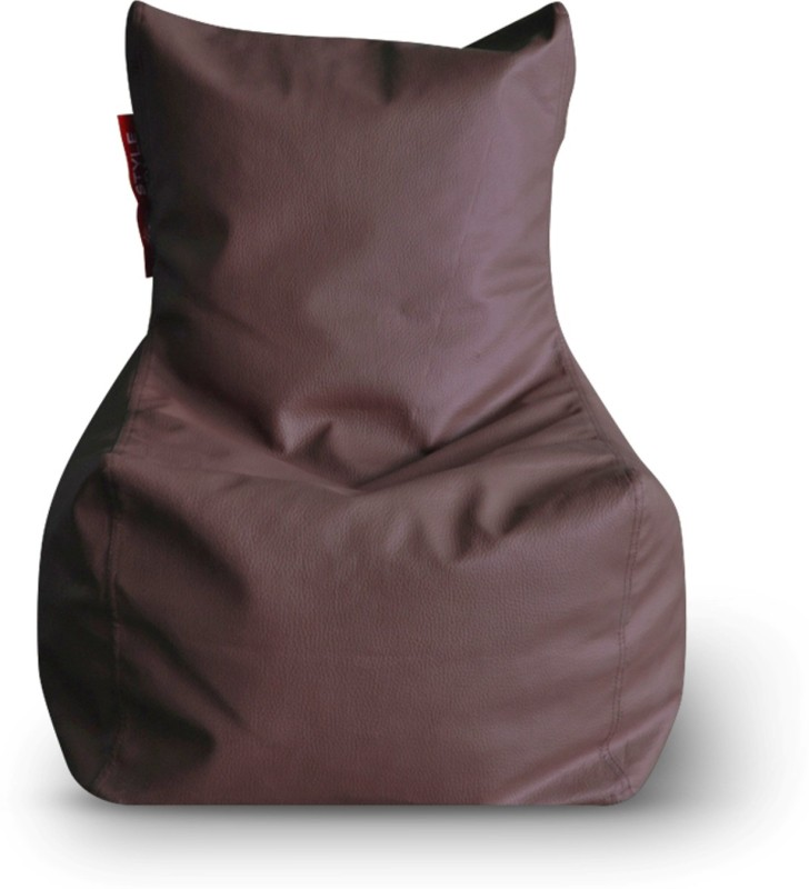Home Story Large Bean Bag Cover (Without Beans)(Brown)