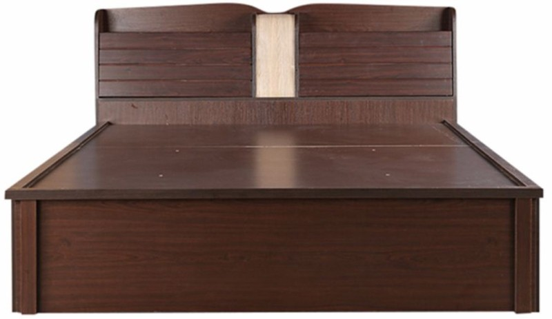 HomeTown Magnum Engineered Wood Queen Bed With Storage(Finish Color - Vermount)