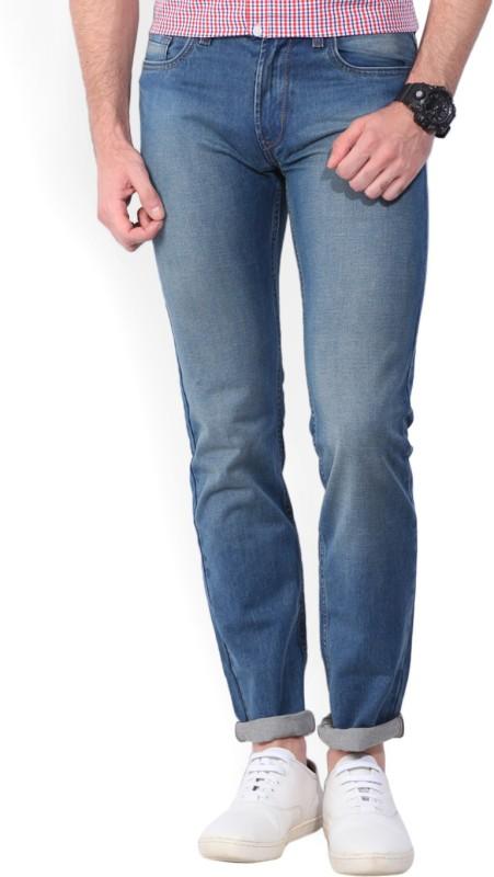 Peter England Slim Mens Blue Jeans