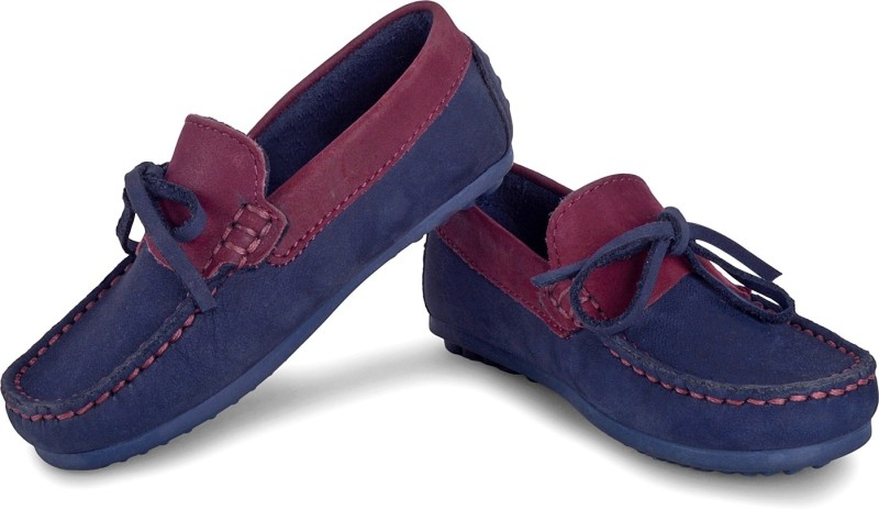 Careeno Boys Slip on Loafers(Dark Blue)