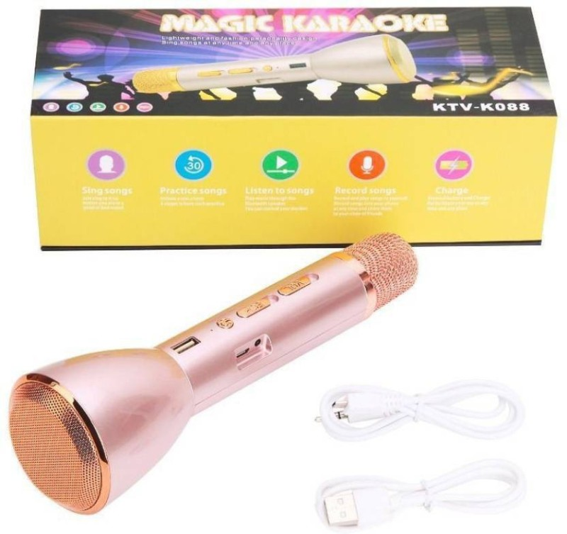 OUTSMART Magic Karaoke MK088 with microphone and bluetooth speaker Microphone