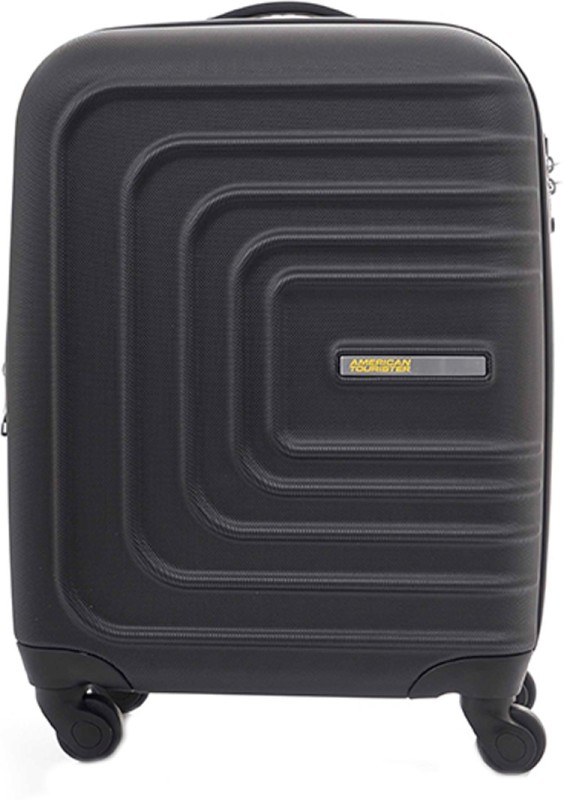American Tourister Sunset Square Spinner Cabin Luggage - 22 inch(Black)