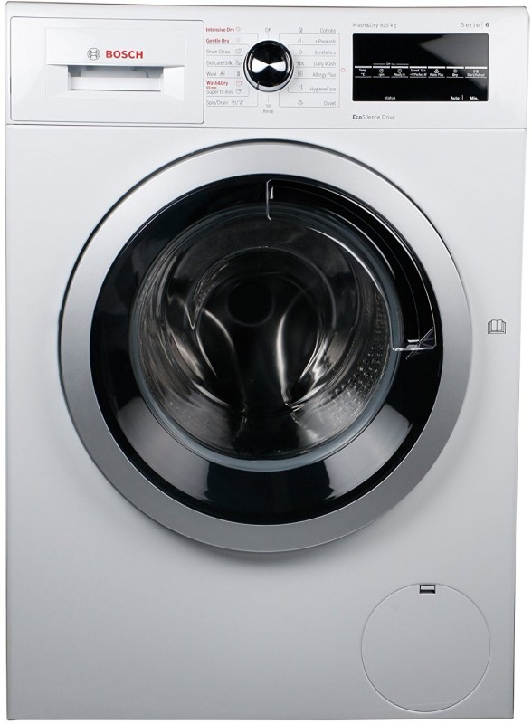 Bosch 8 kg Fully Automatic Front Load Washing Machine White(WVG30460IN)