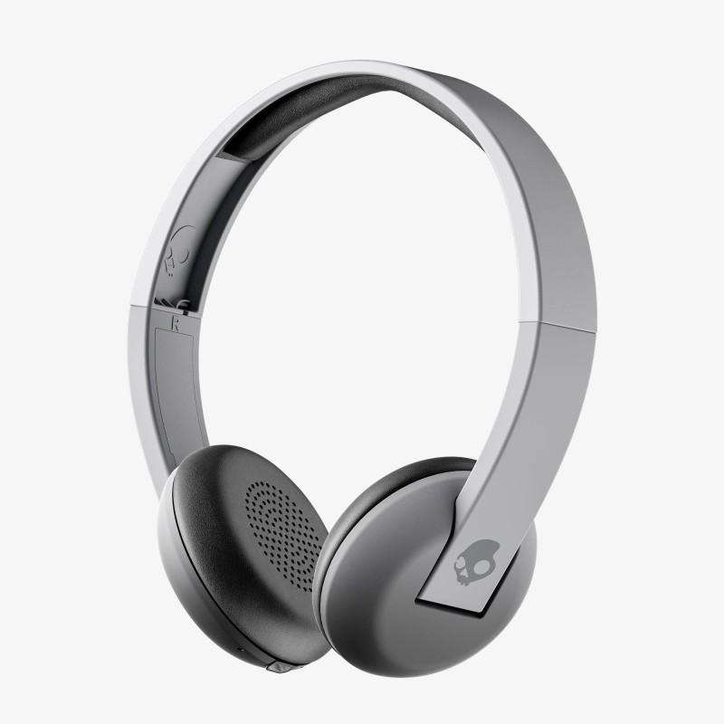 Skullcandy S5URW-K609 Uproar Bluetooth Headset with Mic(Street Gray, On the Ear)