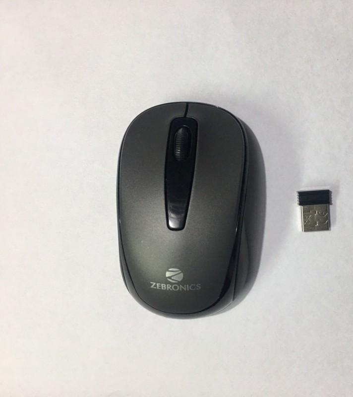 Zebronics swift Wireless Optical Mouse(Bluetooth, USB, Black)