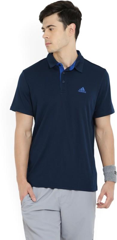 Adidas Solid Men's T-Shirt