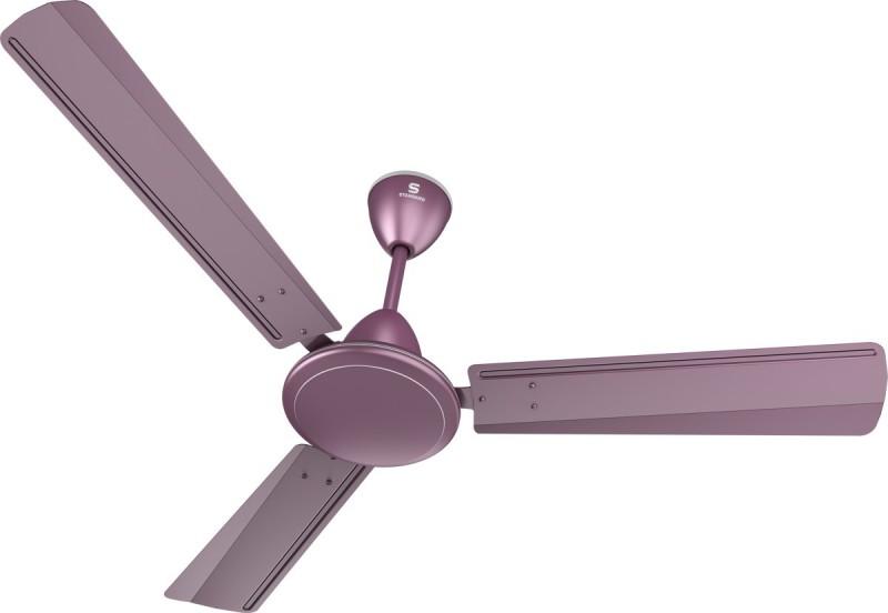 Standard Breezer 3 Blade Ceiling Fan(Mauve MF)