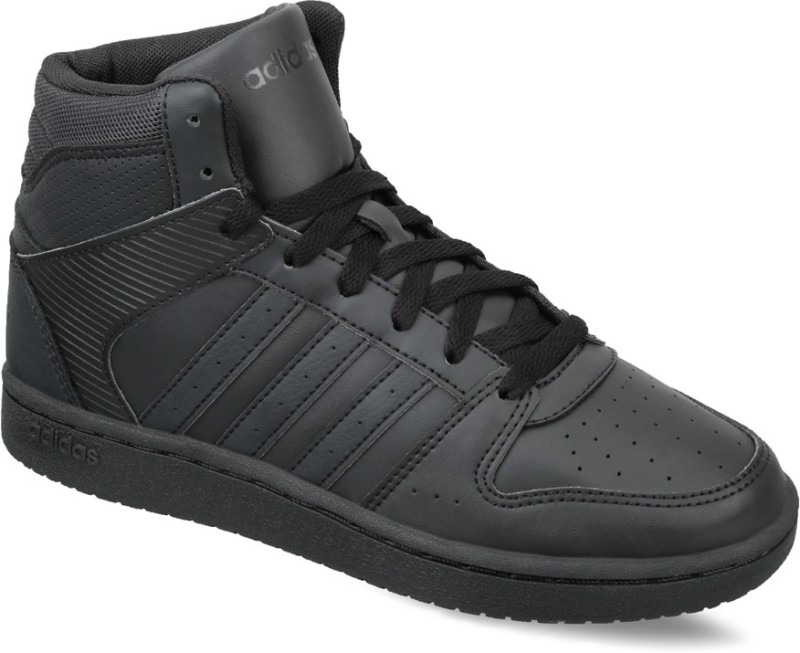a1876c558f19a Adidas Neo VS HOOPSTER MID W Mid Ankle SneakersBlack