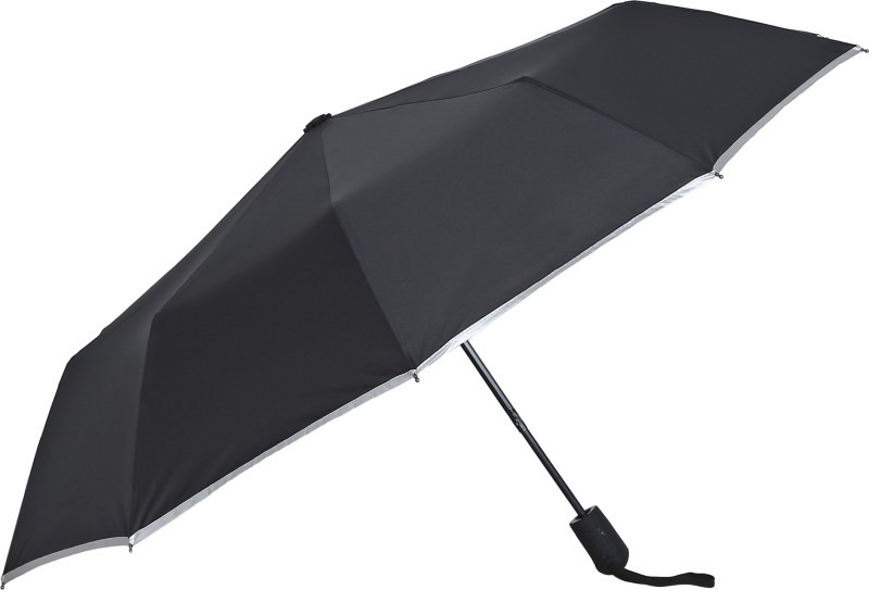 Asera Three Fold Automatic Umbrella(Black)
