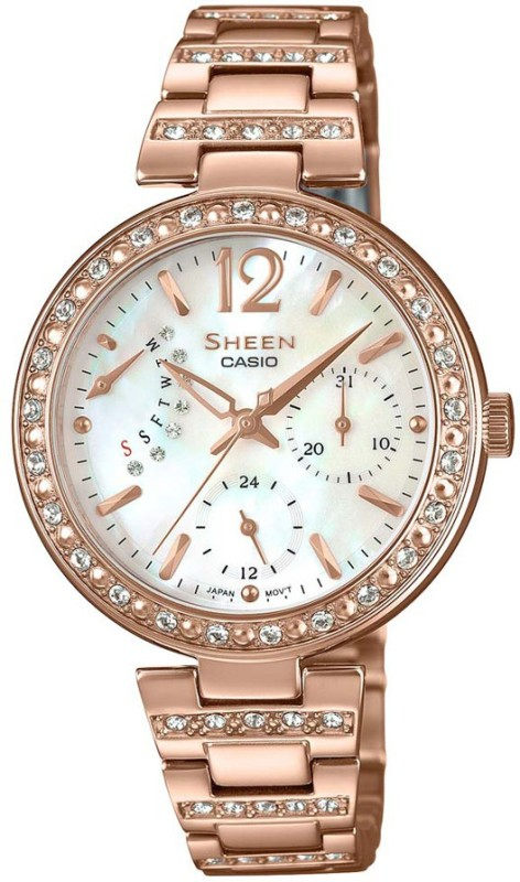 Casio SH191 Sheen Analog Watch - For Women