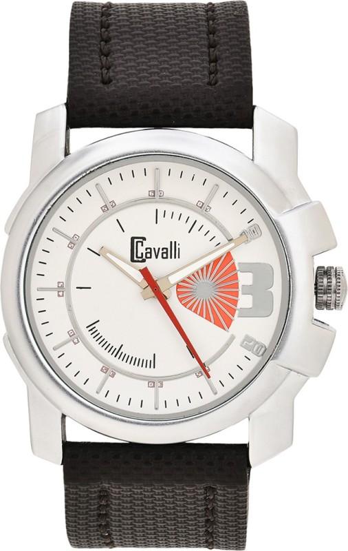 cavalli CW269 White Designer Dial Men's Watch image
