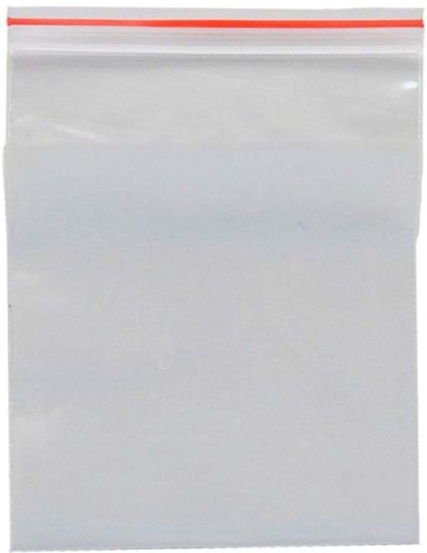 ELPH Resealable Plastic Air Tight Pouch(Clear Pack of 500)