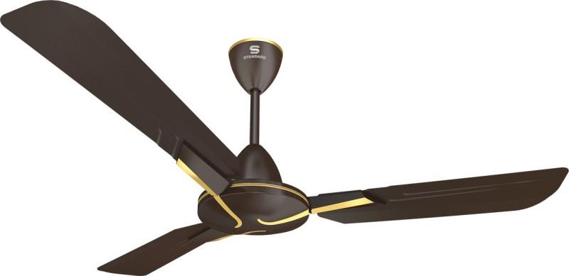Standard Glister 3 Blade Ceiling Fan(Matte Dusk Gold)