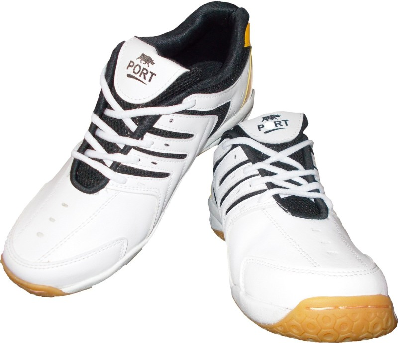 Port QeuSpark Basketball Shoes For Men(White)