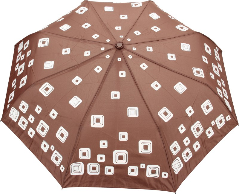 FabSeasons Printed Umbrella(Brown)
