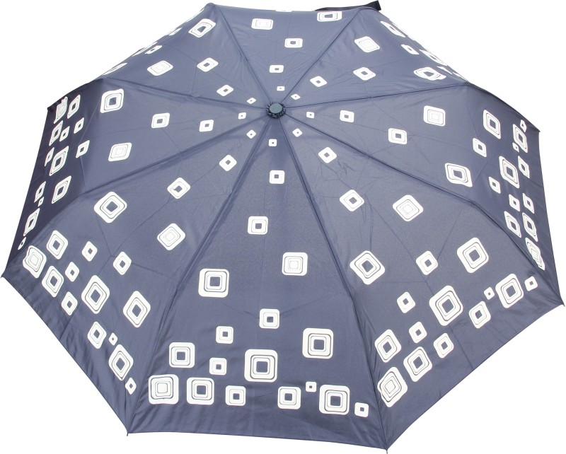 FabSeasons Printed Umbrella(Blue)