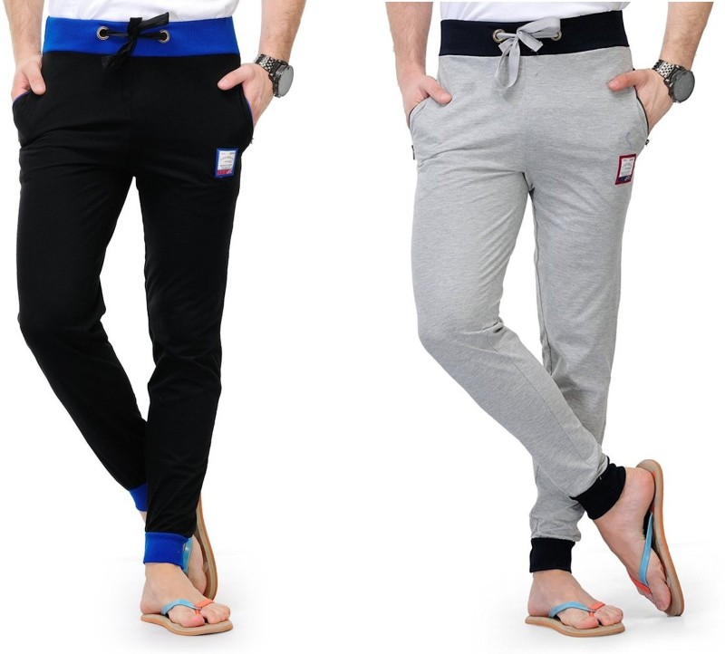 FeelBlue Solid Men's Multicolor Track Pants
