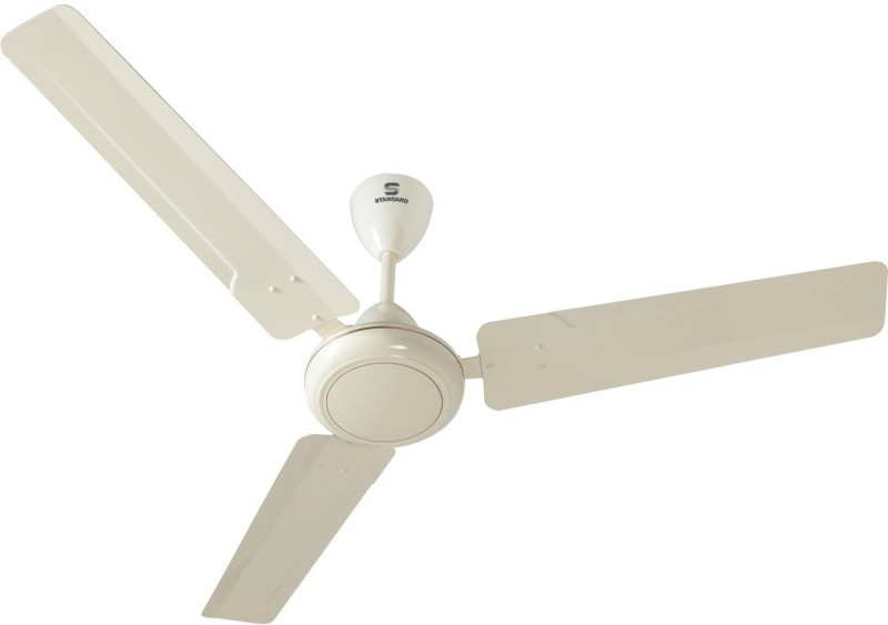 Standard Zinger 3 Blade Ceiling Fan(Bianco)