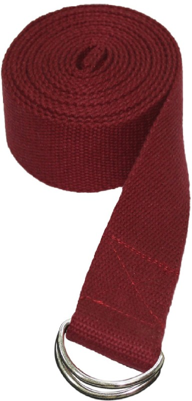 Ryan maroon_01 Cotton Yoga Strap(Maroon)
