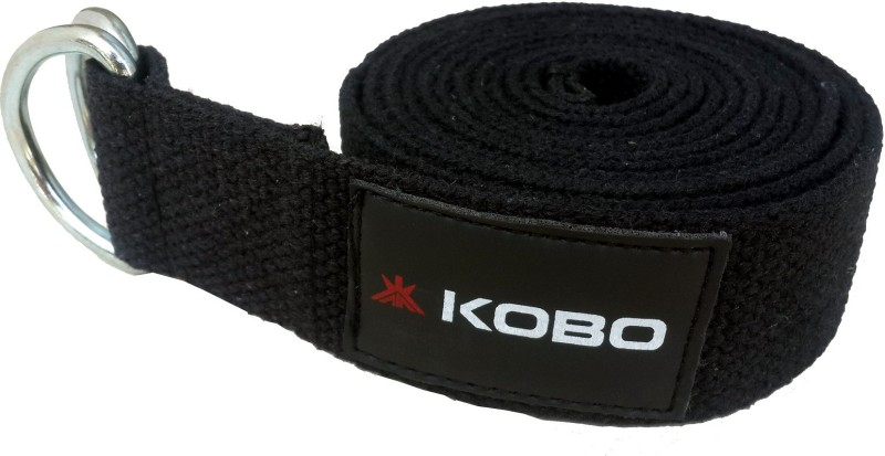 Kobo Wta-22 Cotton Yoga Strap(Black)