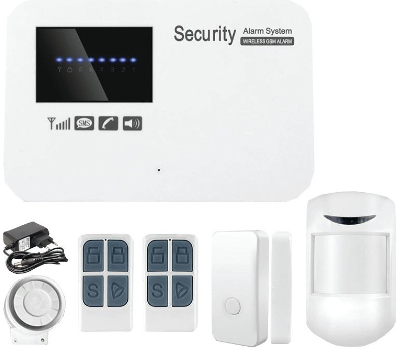 vResQ VRSSGSM002 Wireless Sensor Security System