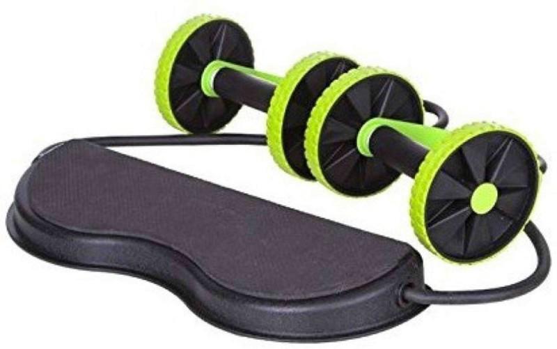 CheckSums 11602 Multipurpose Revoflex Xtreme Machine- Fat Bunner/ Body Building Ab Exerciser(Green, Black)