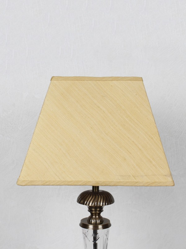 Kapoor E Illuminations TLS7240MGSLYL Table Lamps Lamp Shade(Cotton)