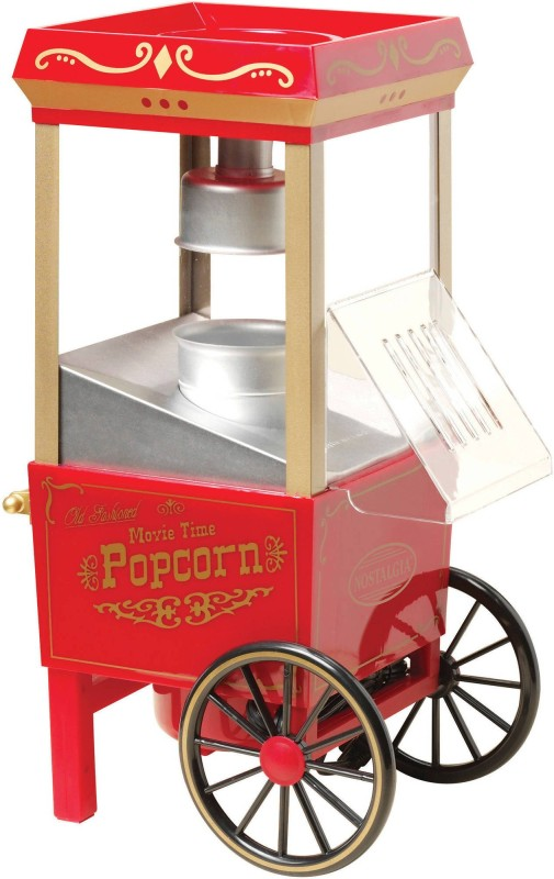 Maxed Hot Air Popcorn Maker Healthy Snack Maker 70 g Popcorn Maker(Red)