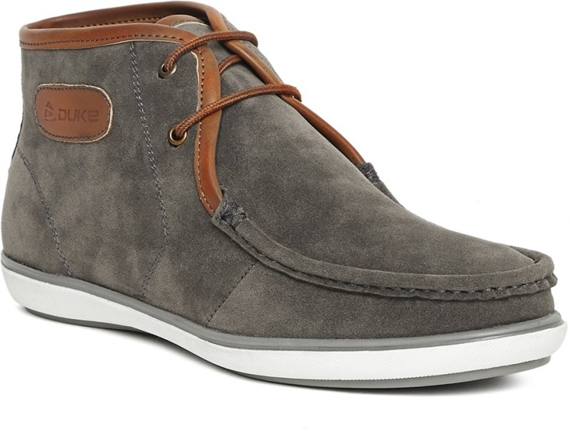 Duke Boots For Men(Grey)