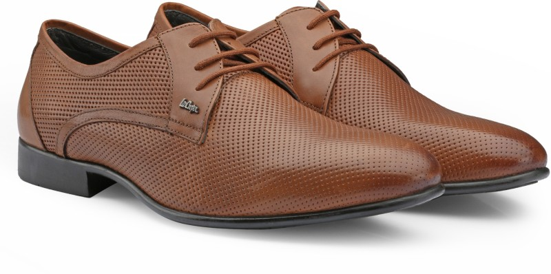 Lee Cooper Lace Up For Men(Tan)