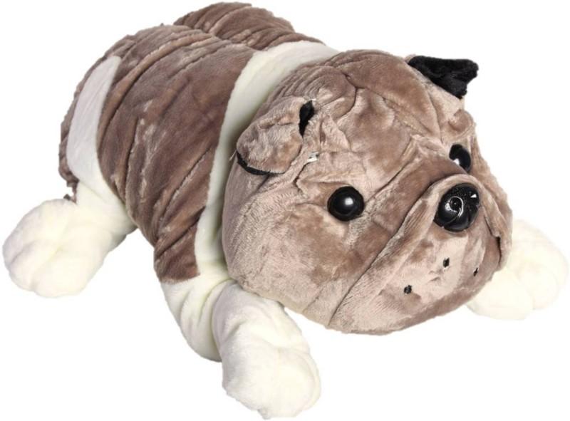 ToyJoy Bulldog 18 cm Grey dog soft plush stuffed dog - 18...