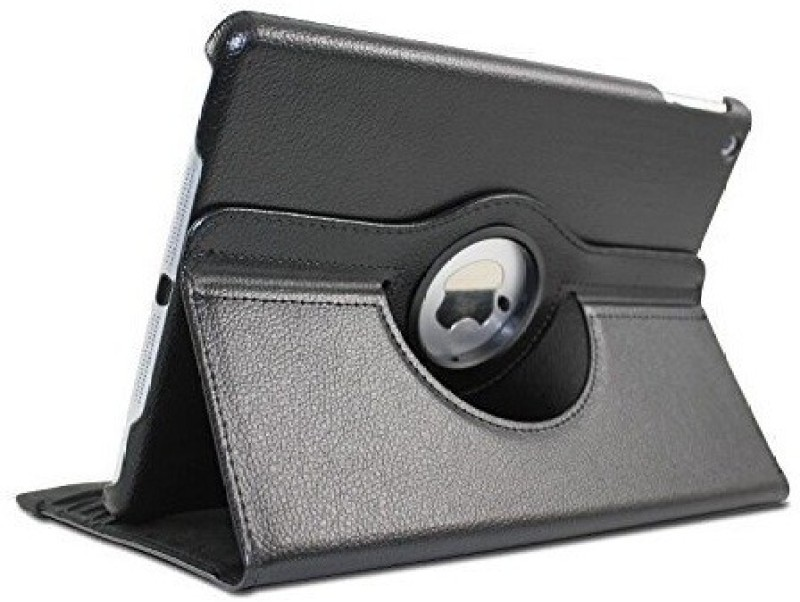 TGK Book Cover for Apple iPad (5th generation) 2017(Black, Leather)