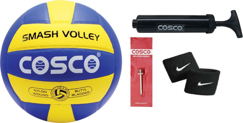 Cosco Smash Volleyball Combo kit Volleyball Kit