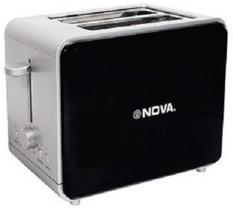 Nova NT-029PD 800 W Pop Up Toaster(Black)
