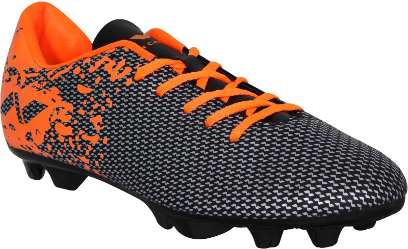 Nivia PREMIER Football Shoes For Men(Black, Orange)
