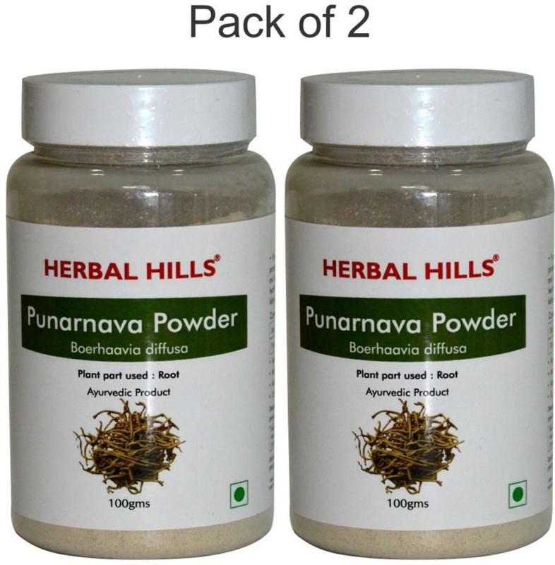 Herbal Hills Punarnava Powder 100g (Pack of 2)(200 g)