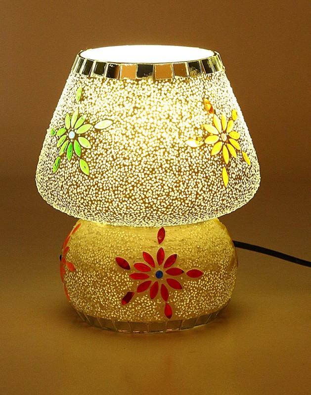 Somil Multi Colour New Handmade Designe Table Lamp_00131 Table Lamp(14 cm, Multicolor)