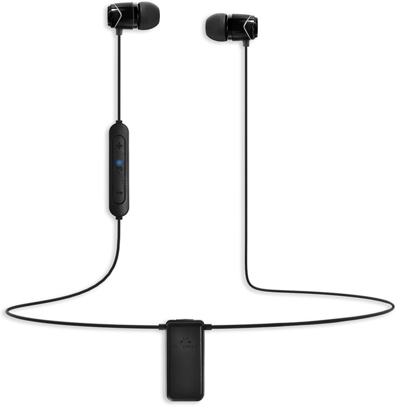 SoundMagic *** BT Bluetooth Headset with Mic(Black, In the Ear)