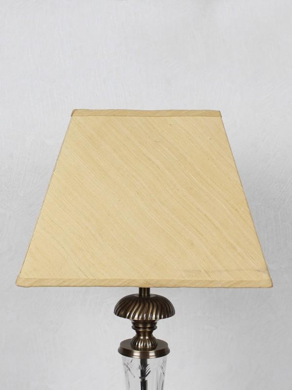 Kapoor E Illuminations TLS7235MGSLYL Table Lamps Lamp Shade(Cotton)