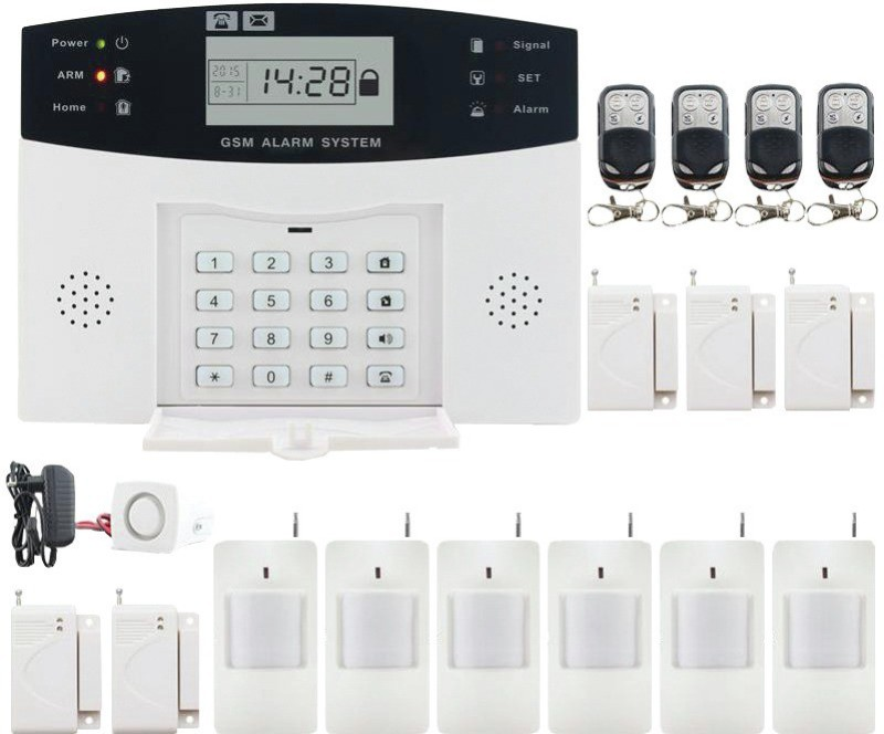vresq VRSSGSM003 Wireless Sensor Security System